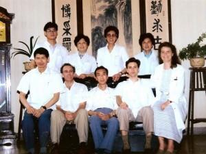 Photo officielle du dernier stage à Nanjing, 2002