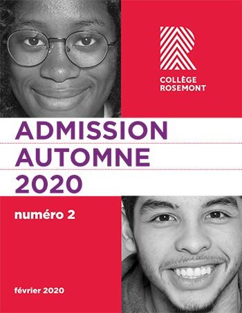 Collège de Rosemont - Guide d'admission 2020